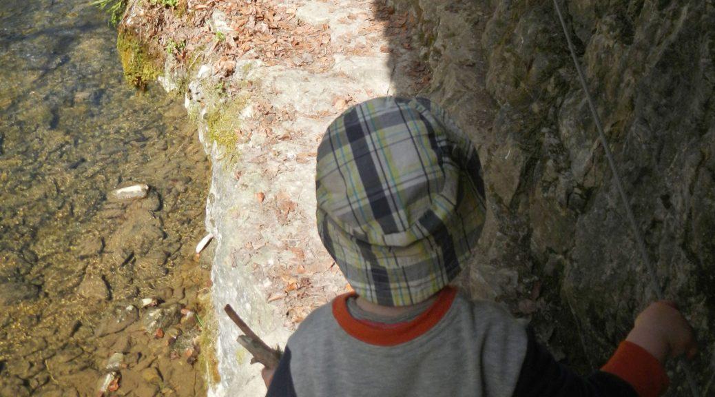 Klettergurt Aus Seil : Mit seil und kraxe: klettersteig kleinen kindern outdoorfamilie