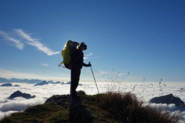 Mit Kind und Kraxe auf den Gipfel wandern