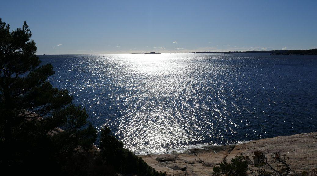 Meer und Sonne vor Norwegens Südküste