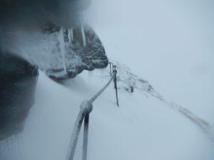 Schneereicher Weg auf den zweithöchsten Berg der Hardangervidda