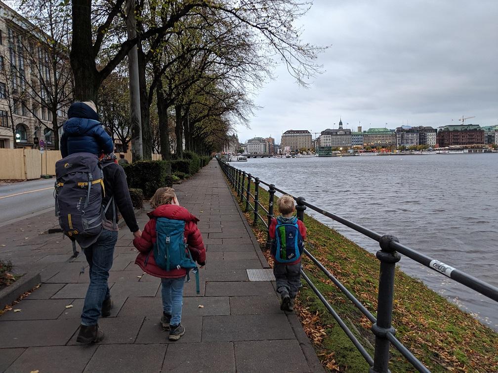 Alster-Erkundung in Hamburg