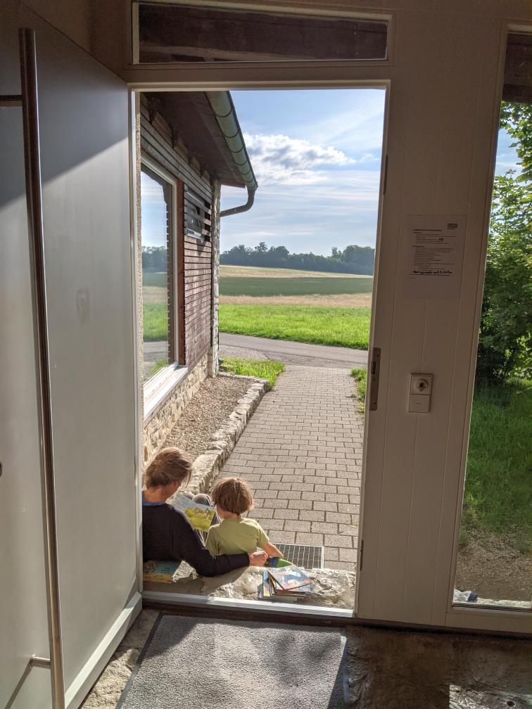 Mit Kindern in der DAV Hütte
